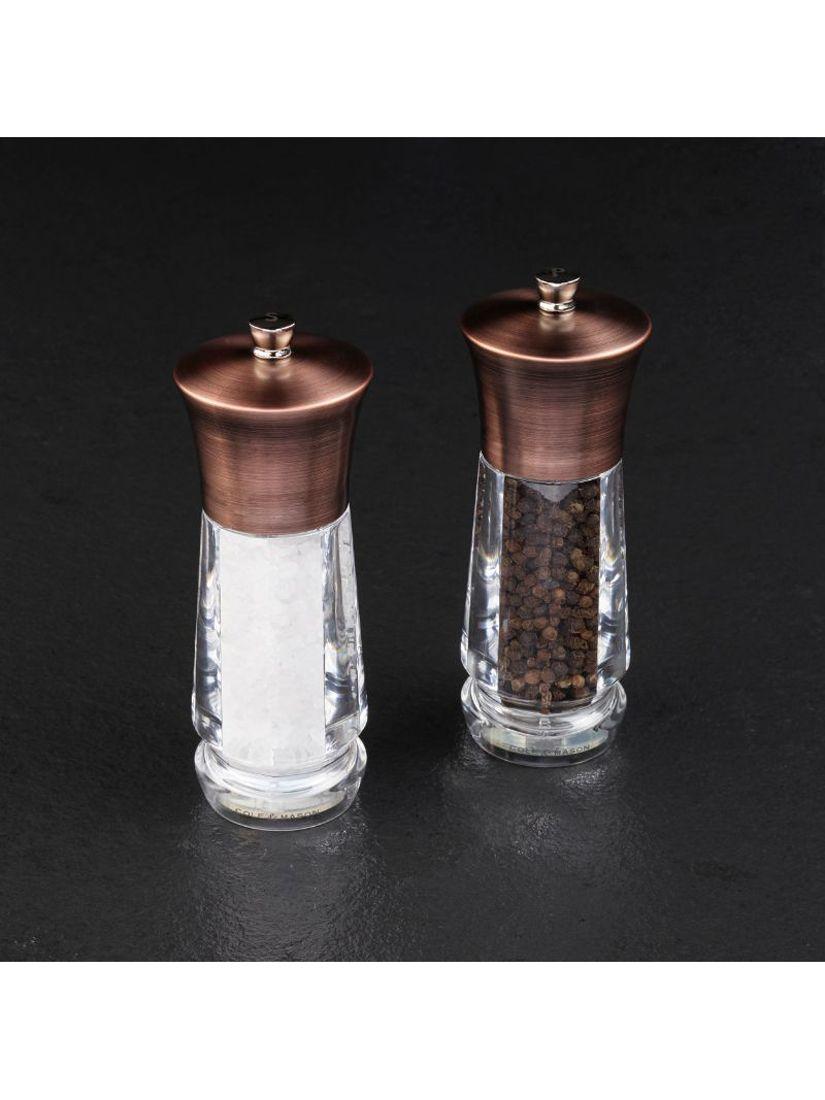 Cole & Mason Cole & Mason Exford Brass Salt & Pepper Mill Set