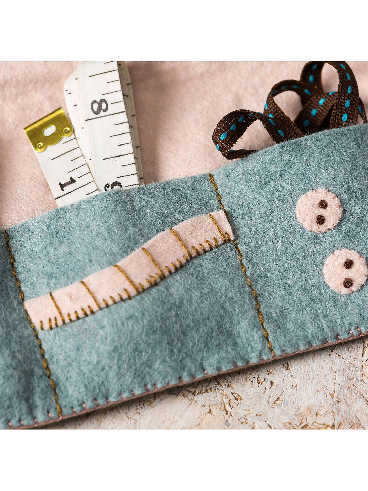Buy Corinne Lapierre Felt Sewing Roll Craft Kit Online at johnlewis.com