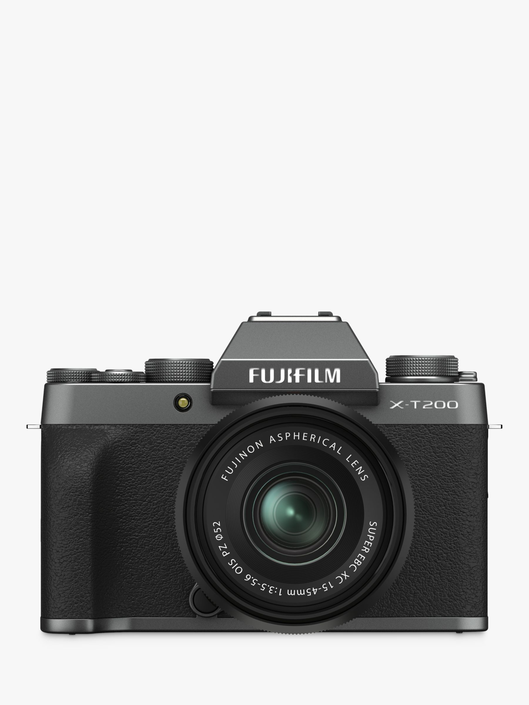 "Fujifilm Fujifilm X-T200 Compact System Camera with 15-45mm XC Lens, 4K Ultra HD, 24.2MP, Wi-Fi, Bluetooth, EVF, 3.5"" Vari-angle Touch Screen"