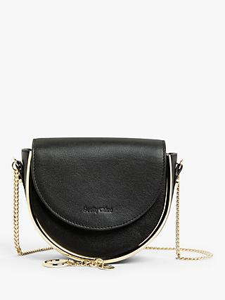 See By Chloé Mara Mini Chain Leather Cross Body Bag