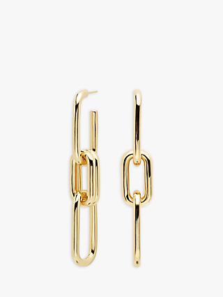 PDPAOLA Muze Multi Link Drop Earrings, Gold