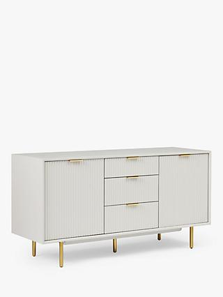 "west elm Quinn TV Stand Sideboard TVs up to 50"", Haze"