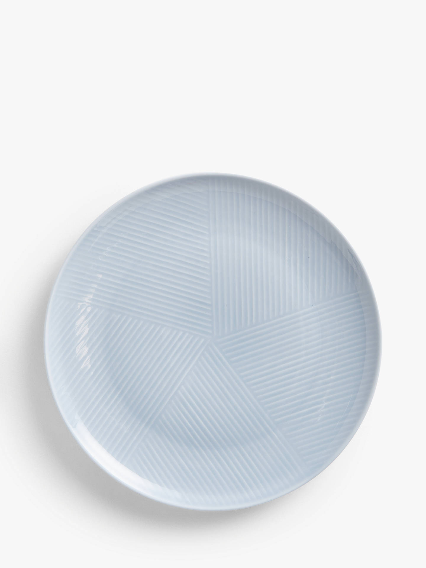 Buy Design Project by John Lewis No.098 Coupe Plate, 23cm, Blue Online at johnlewis.com