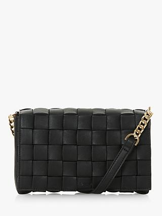 Dune Deaver Cross Body Bag, Black
