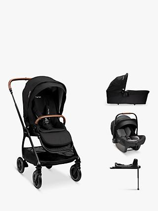Nuna Triv-Pipa 5 Piece Pushchair Bundle, Caviar