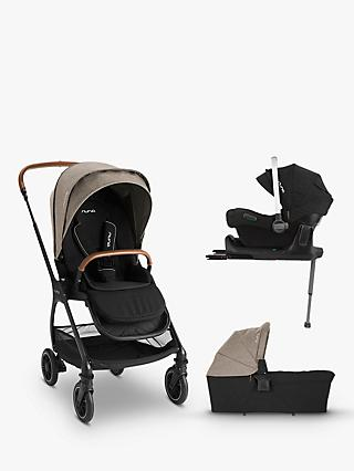 Nuna Triv-Pipa 5 Piece Pushchair Bundle, Mocha
