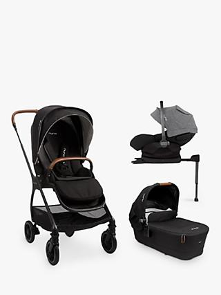 Nuna Triv-Arra 5 Piece Pushchair Bundle, Caviar