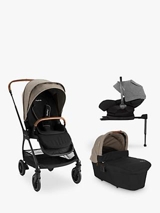 Nuna Triv-Arra 5 Piece Pushchair Bundle, Mocha