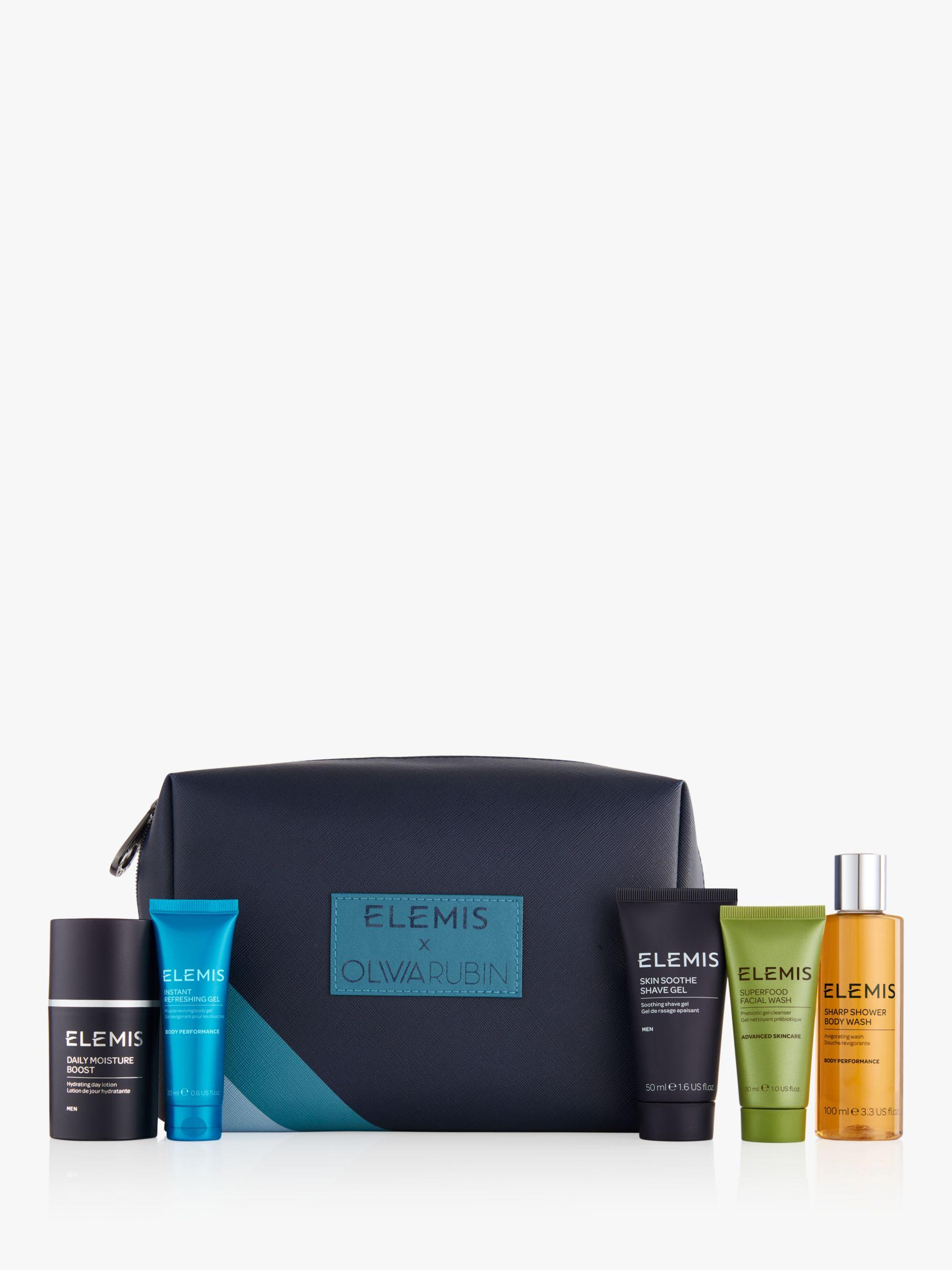Elemis X Olivia Rubin Luxury Traveller For Him Skincare Gift Set At John Lewis Partners