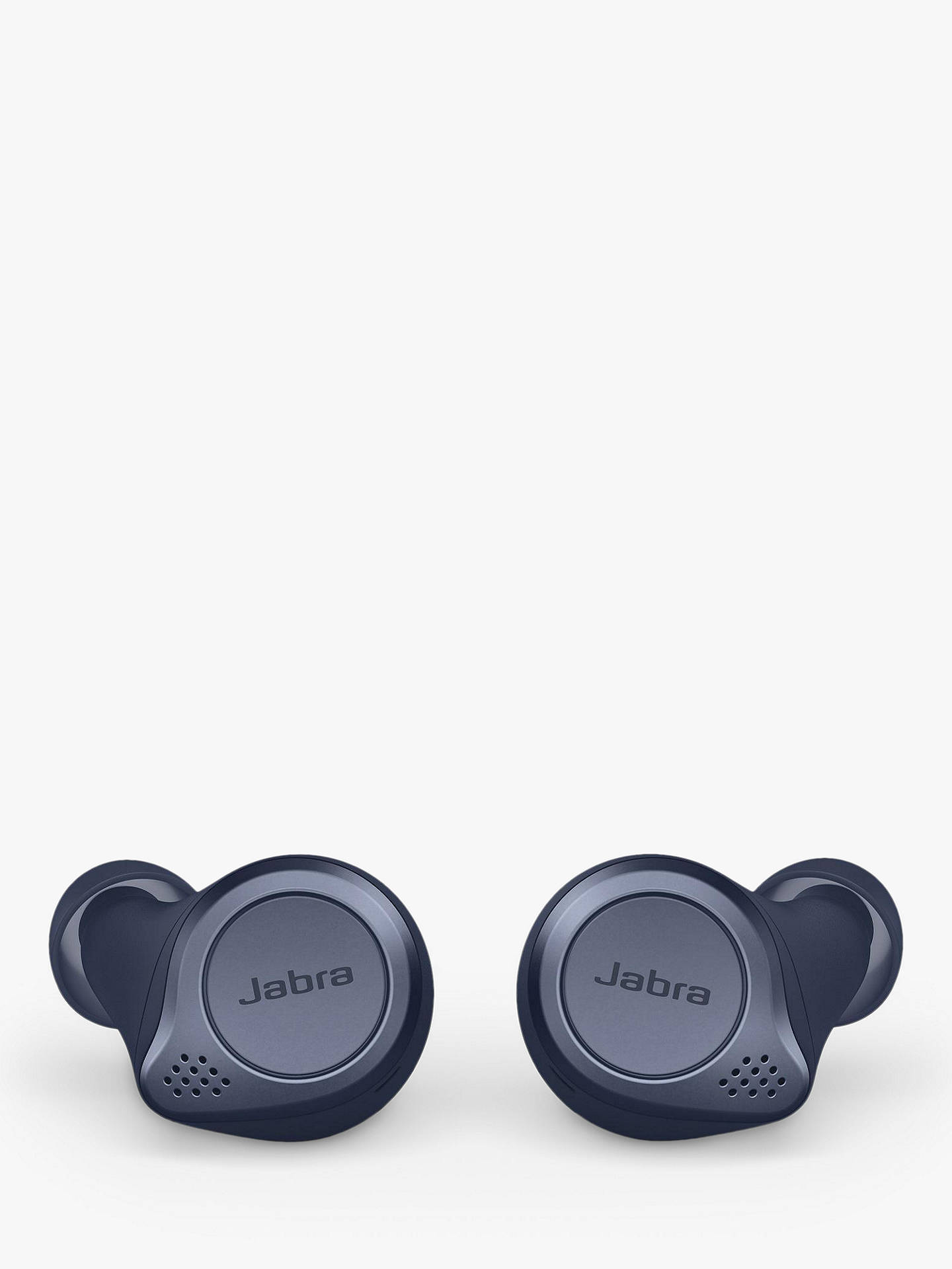 Buy Jabra Elite Active 75t True Wireless Bluetooth Active Noise Cancelling Sweat & Weather-Resistant In-Ear Headphones with Mic/Remote, Navy Online at johnlewis.com