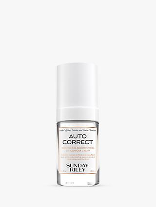 Sunday Riley Auto Correct Brightening and Depuffing Eye Contour Cream, 15ml