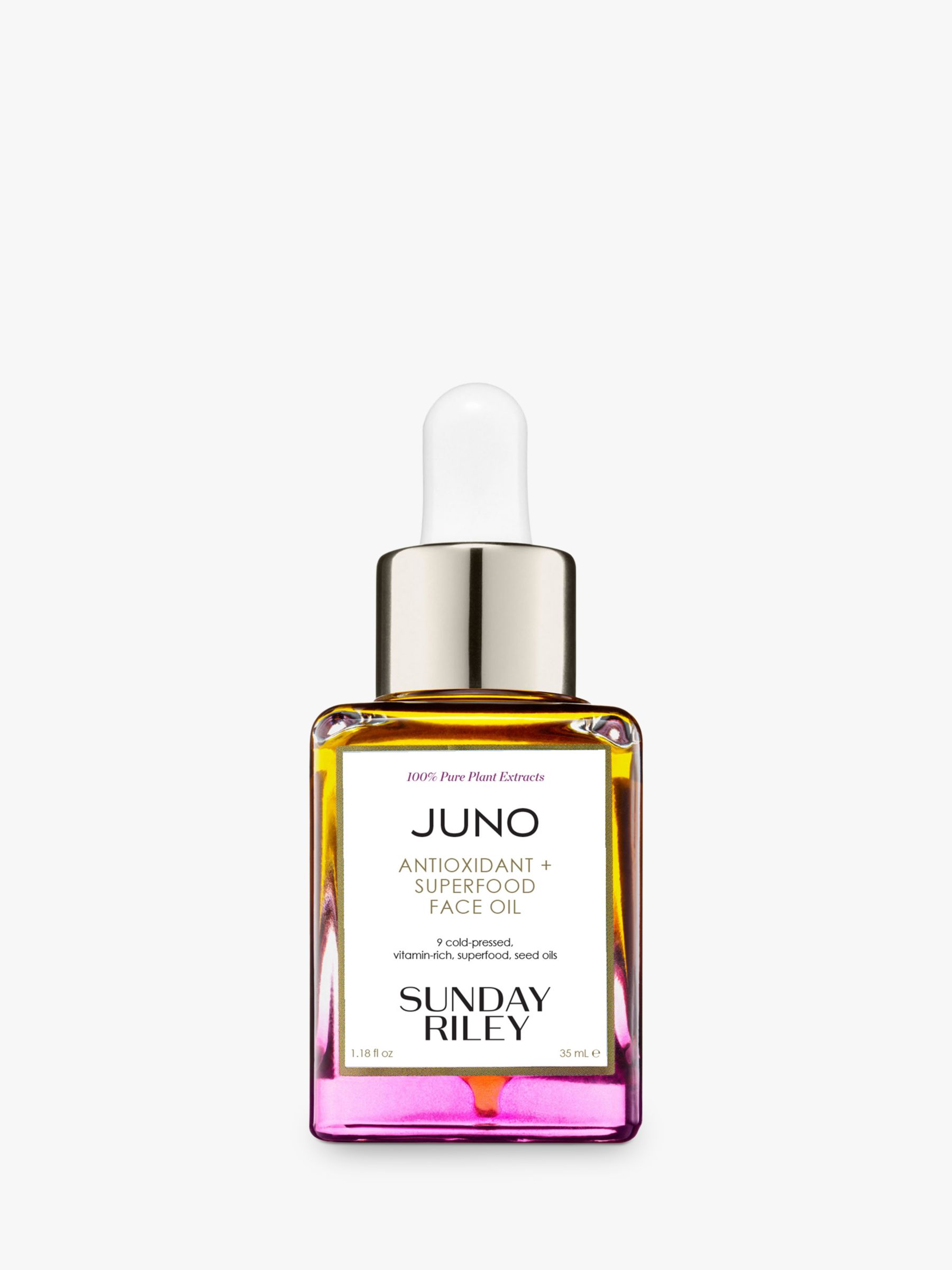 Buy Sunday Riley Juno Antioxidant + Superfood Face Oil, 35ml Online at www.retrievedmagnetic.com