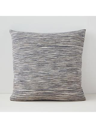 west elm Ombre Striations Cushion, Indigo