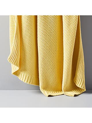 west elm Cotton Knitted Throw