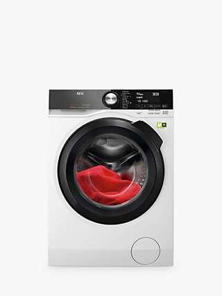 AEG 9000 Series L9FEB969C Freestanding Washing Machine, 9kg Load, 1600rpm Spin, White
