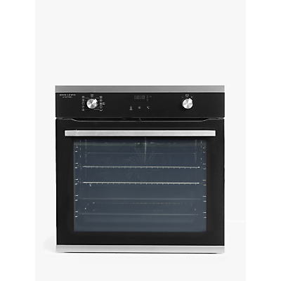 John Lewis & Partners JLBIOS643 Built-in Single Electric Oven, A+ Energy Rating, Stainless Steel