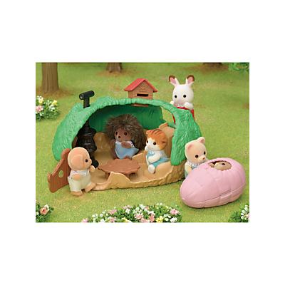 Sylvanian Families Baby Hedgehog Hideout Set