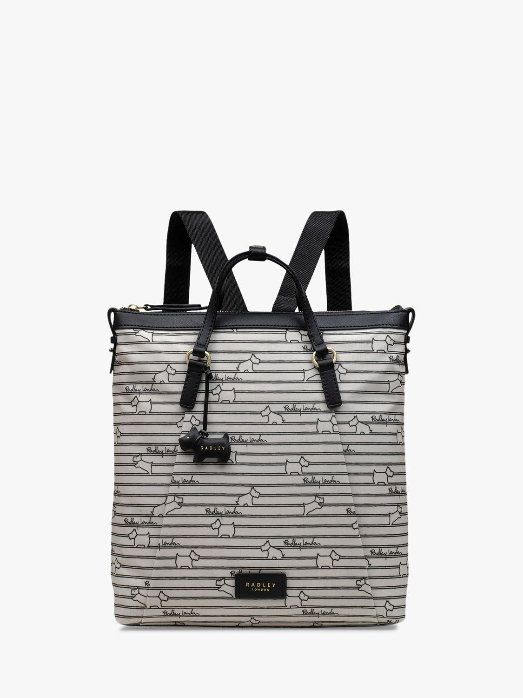 Radley Radley Stripe Oilskin Backpack