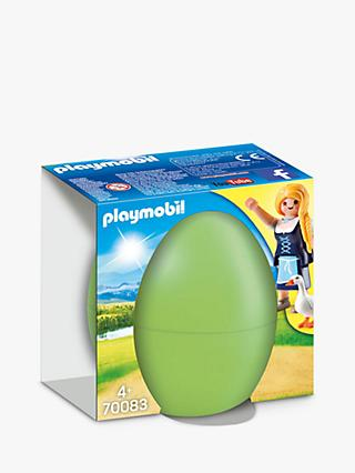 Playmobil Maiden & Geese Gift Egg