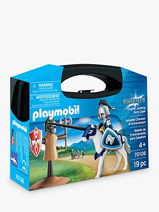 Playmobil Knights 70106 Jousting Carry Case
