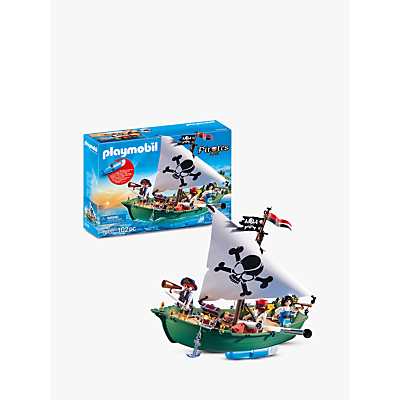 Playmobil Pirates 70151 Underwater Motor Pirate Ship