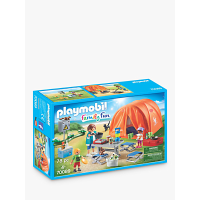 Playmobil Family Fun 70089 Camping Trip