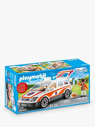 Playmobil City Life 70050 Emergency Car