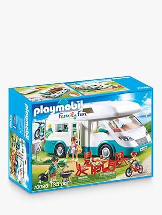 Playmobil Family Fun 70088 Family Camper
