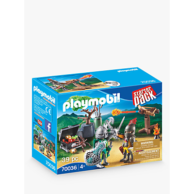 Playmobil Knights 70036 Treasure Battle Stater Pack