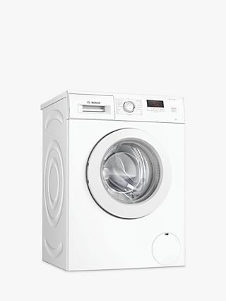Bosch Serie 2 WAJ28008GB Freestanding Washing Machine, 7kg Load, 1400rpm Spin, White