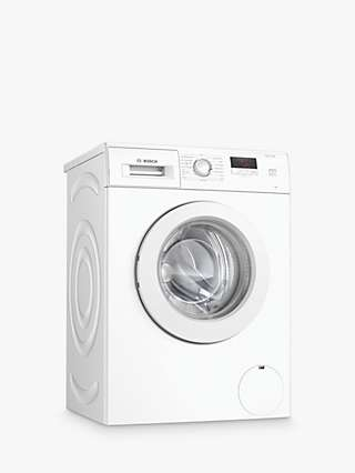 Bosch WAJ24006GB Freestanding Washing Machine, 7kg Load, A+++ Energy Rating, 1200rpm Spin, White