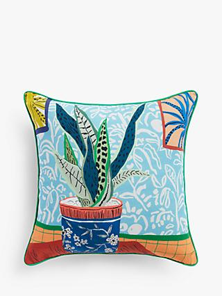 House by John Lewis Kimmy Cushion, Multi