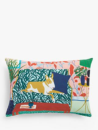 House by John Lewis Monty Cushion, Multi