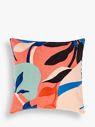 ANYDAY John Lewis & Partners Floral Crop Cushion