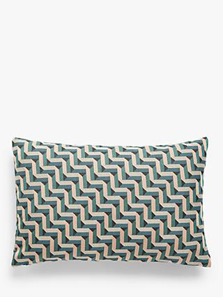 John Lewis & Partners Rise Block Cushion