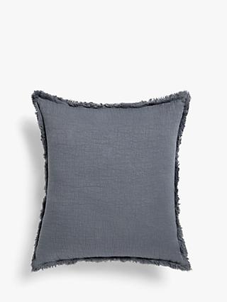 John Lewis & Partners Washed Cotton Cushion