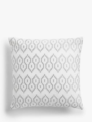 John Lewis & Partners Embroidered Stripe Cushion