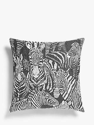 Harlequin Nirmala Cushion, Jet / Chalk