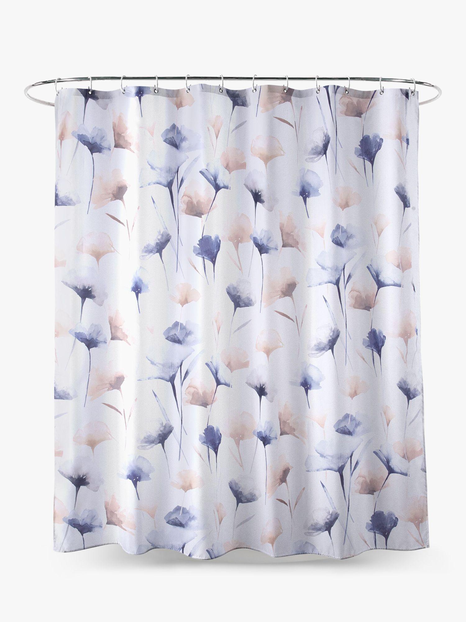 John Lewis & Partners Ginkgo Floral Shower Curtain