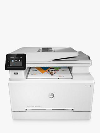 HP LaserJet Pro M283FDW Wireless Colour Printer with Wi-Fi & Instant-On Technology, White