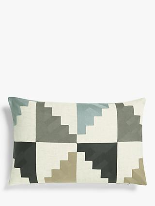 Harlequin Mehari Cushion, Sky / Maize