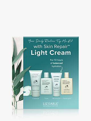 Liz Earle Your Daily Routine Try-Me Kit  with Skin Repair™ Light Cream