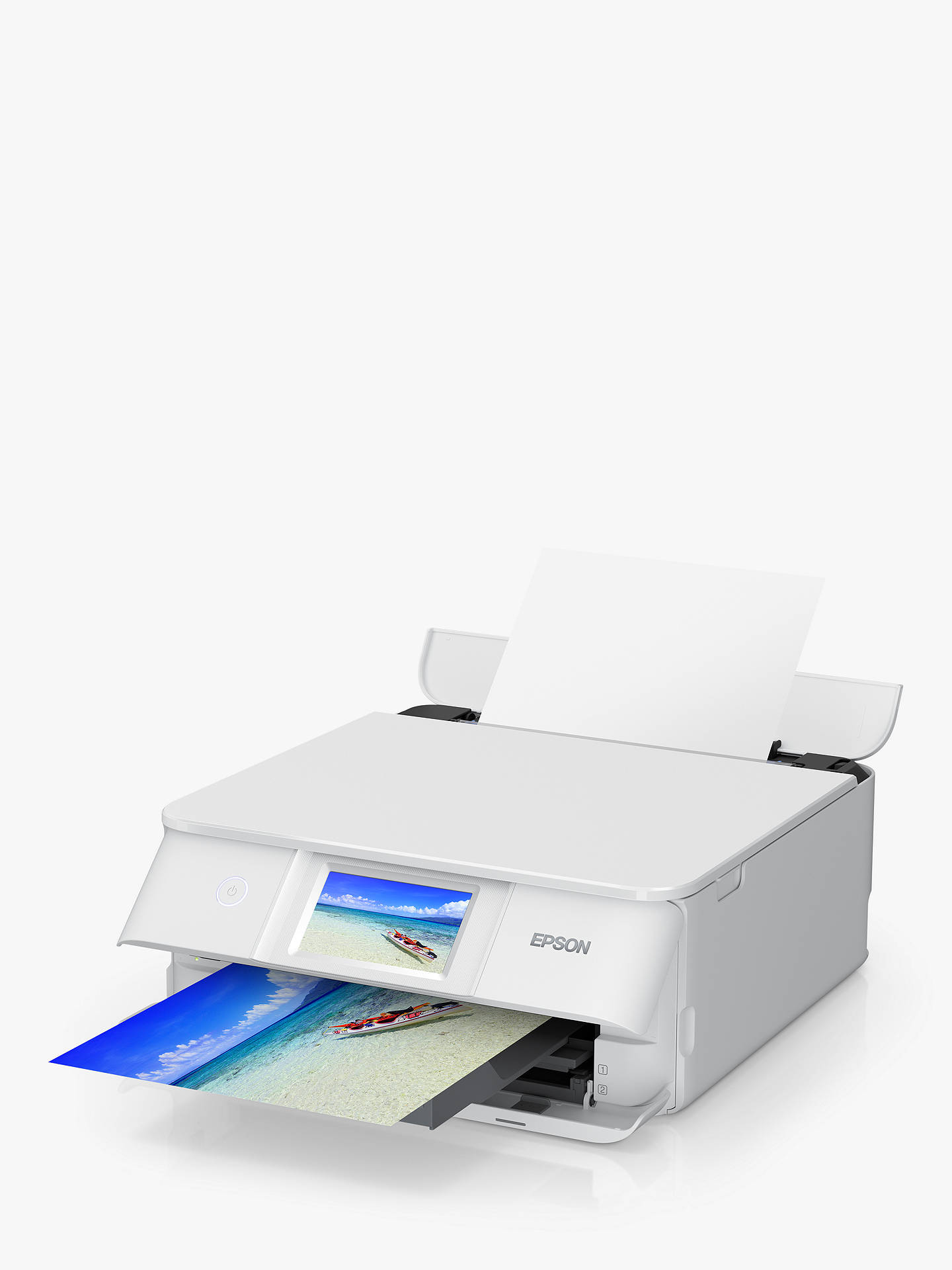 Buy Epson Expression Photo XP-8605 Three-in-One Wireless Printer, White Online at johnlewis.com