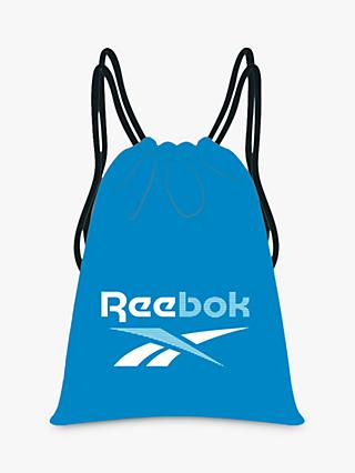 Reebok Training Essentials Gym Sack Bag, Horizon Blue