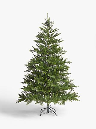 John Lewis & Partners Peruvian Pine Unlit Christmas Tree, 7ft