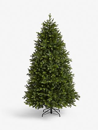 John Lewis & Partners Brunswick Spruce Unlit Christmas Tree, 7ft