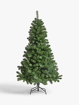 John Lewis & Partners Festive Fir Unlit Christmas Tree, 6ft