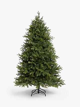 John Lewis & Partners Brunswick Spruce Unlit Christmas Tree, 6ft