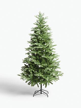 John Lewis & Partners Aspen Unlit Christmas Tree, 7ft