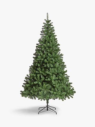John Lewis & Partners Festive Fir Unlit Christmas Tree, 9ft